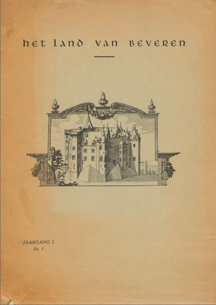 Cover of Jaargang (01) I - Nr.1