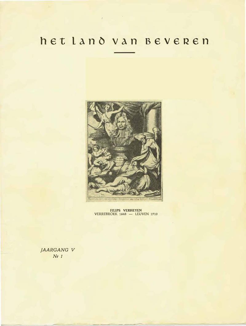 Cover of Jaargang (05) V - Nr.1